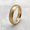 5.6mm Matt 9ct Gold Band