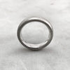5.6mm Matt Silver Band