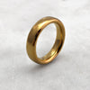 5.6mm Polished 18ct Gold Band