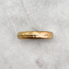 5.6mm Rustic 18ct Gold Band