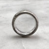 7.9mm Rustic Silver Band
