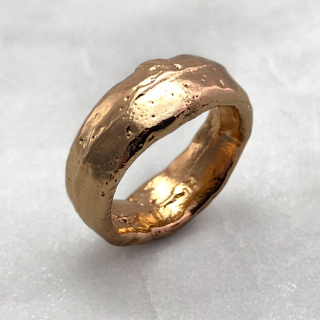Rustic Wide Ring