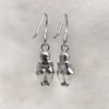 Venus Of Willendorf Silver Earrings