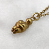 Venus Of Willendorf Gold Necklace