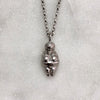 Venus Of Willendorf Silver Necklace