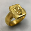 Alexander The Great Gold Ring