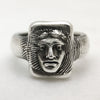 Alexander The Great Silver Ring