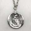 Silver Angel Seal Necklace