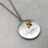 Bee Happy Double Sided Necklace