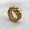 Gold Ball Ring Set