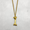 Gold Bone Necklace