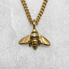 Tiny 9ct Gold & Diamond Bee Necklace