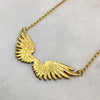 Tiny Gold Wings Necklace