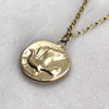 9ct Gold Dove Coin Necklace