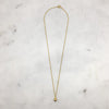 Gold Fresh Water Pearl Necklace