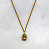 Tiny Ganesha Gold Necklace