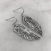 Silver Goddess Earrings