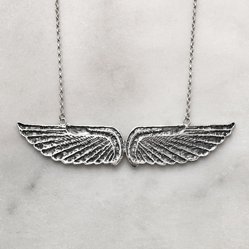 Silver Goddess Necklace