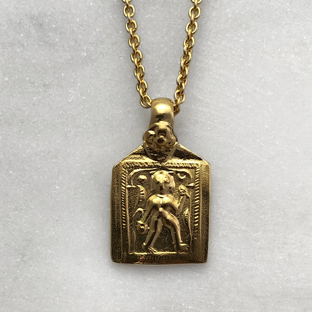 Goddess Gold Necklace