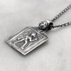 Goddess Silver Necklace