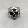 Silver Jawless Skull Ring