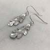 Silver Oak Leaf Earrings