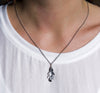 Silver Oak Leaf Necklace