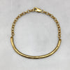 Melt Gold Chain Bracelet