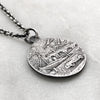 St Christopher Silver Necklace
