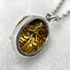 Scarab Beetle Silver / Gold Necklace