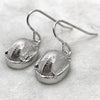 Scarab Beetle Silver Earrings