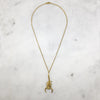 Gold Scorpion Necklace
