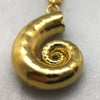 Gold Spirula Necklace