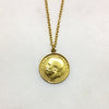 Gold Threepence Necklace
