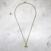 Sitting Buddha Gold Necklace
