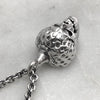 Silver Skullberry Necklace