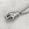 Large Venus Of Willendorf Silver Necklace