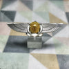 Winged Scarab Ring