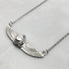 Small Winged Scarab Beetle Necklace