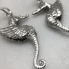Winged Seahorse Earrings