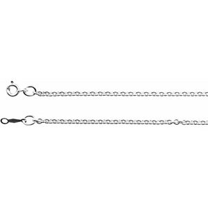 Sterling Silver 2.1 mm Cable Chain