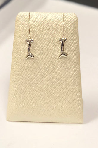 Large Bone Dangle Earrings