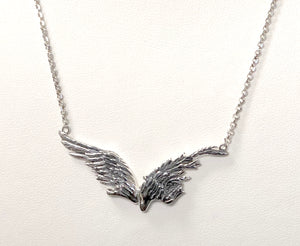 Angel Wing Pendant in Sterling Silver