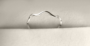 Zig-Zag Stack Ring in Sterling Silver