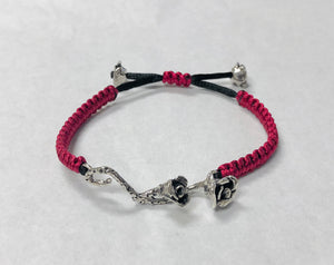 Lullaby Rose Bracelet in Sterling Silver