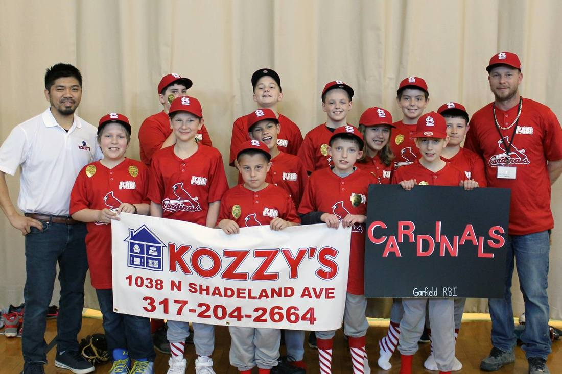 Team Kozzy's Little League RBI Baseball