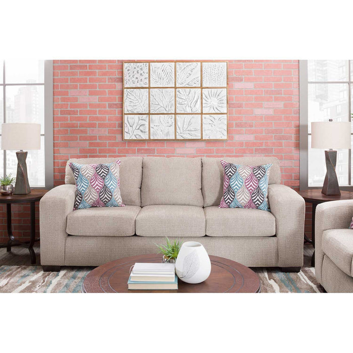 Silver Platinum Sofa by Affordable Furniture