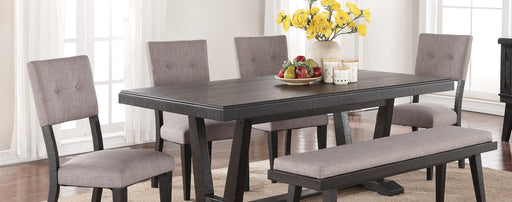 Ashen Echo Dining Table