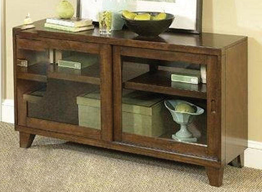 Walnut Inlay TV Console