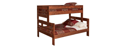Twin/Full Bunkbed Stackable Chestnut